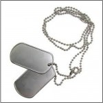 Dog Tag khắc Laser (Made in US)